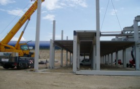 LOGISTICS CENTRE FOR CONSTRUCTION MACHINERY AND MATERIAL