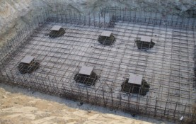 CONSTRUCTION OF PLANT FOR PRECAST CONCRETE MATERIAL