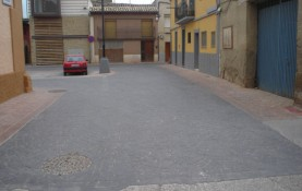 REPAIR OF STREETS IN THE VICINITY OF PLAZA RUFIAN