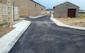 RENOVATION OF THE PAVING OF PART OF BARRIO BAJO STREET (FROM THE A-2509 ROAD TO SQUARE) EN VILLARREAL DE HUERVA