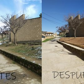 REFORM OF THE MUNICIPAL WATER DEPOSITS FOR HOME SUPPLY OF THE POPULATION IN UNCASTILLO (ZARAGOZA)