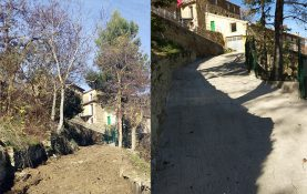 ROAD PAVING ON THE GENERAL COLLECTOR OF SANITATION IN ORES