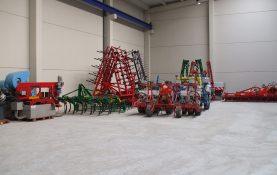 CONSTRUCTION DE L'ENTREPÔT POUR LA VENTE DE MACHINES ET PIECES AGRICOLES (OLITE)