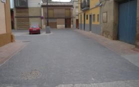 REPARACION DE CALLES ENTORNO PLAZA DEL RUFIAN